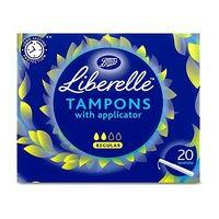 Boots Liberelle applicator tampon regular 20s