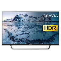 Sony Bravia KDL32WE613 LED HDR HD Ready 720p Smart TV, 32 with Freeview Play & Cable Management, Bla