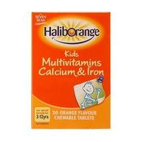 Haliborange Multivitamins, Calcium  Iron - 30 Tablets