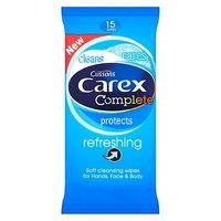 Carex Refreshing Soft Cleansing Wipes 15 Wipes