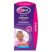 Calpol Infant Sugar Free 120 mg/5 ml Oral Suspension  - 100ml