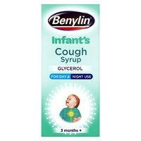 Benylin Children's Apple Flavour Cough Syrup 3+ Months (125ml)