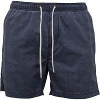 Onfire Mens Washed Out Effect Taslan Swim Shorts Navy