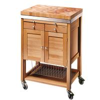 Eddingtons Pewsey Wooden Butcher's Trolley