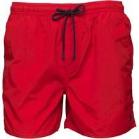 French Connection Mens Tas Contrast Swim Shorts Red