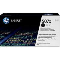 HP 507X Black Toner Cartridge, Black