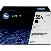 HP 55A Black Toner Cartridge, Black