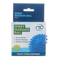 Yoga Mad Spikey Massage Ball, Blue