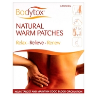 Bodytox Natural Warm Patches - 6 Patches
