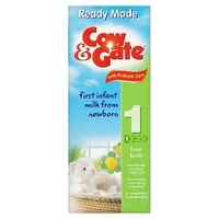 Cow & Gate Ready to Feed First Infant Milk from Newborn 200ml