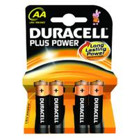 Duracell Plus Battery AA x 4