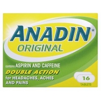 Anadin Original Double Action 16 Tablets
