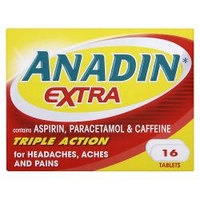 Anadin Extra Triple Action 16 Tablets
