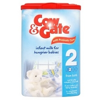 Cow & Gate Infant Milk for Hungrier Babies from Newborn Stage 2 900g