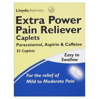 Lloydspharmacy - Extra Power Pain Reliever Caplets 32 Tablets