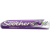 Halls Soothers Blackcurrant 45g