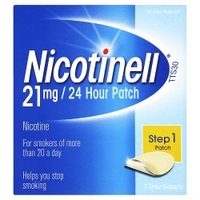 Nicotinell 21mg / 24 Hour Patch Step 1 Patch 7 Day Supply