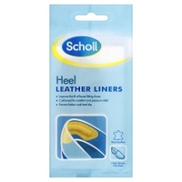 Scholl Heel Leather Liners