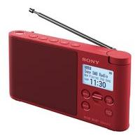 SONY XDR-S41DR Portable DAB Radio - Red, Red