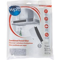 Wpro Universal 2-in-1 Grease and Carbon Filter