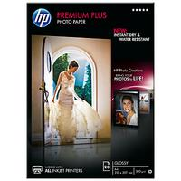 HP CR672A Premium Plus Glossy A4 Photo Paper, 20 Sheets
