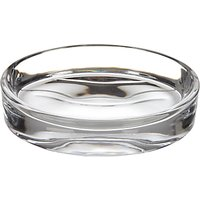Croft Collection Glass Soap Dish, Clear