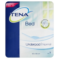 TENA Bed Underpad Normal - 60cm x 90cm  7 Pack
