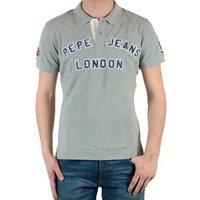 Pepe jeans  Polo Shirt  New Polo Shirt PM40330 Gris1933  men's Polo shirt in grey