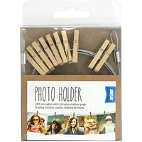 Shot2go peg photo holder wooden