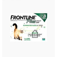 Frontline Plus Spot-on Cat - 3 x pipettes