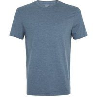 Mens Blue Marl Slim Fit T-Shirt, Blue
