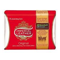 Imperial Leather Bar Soap Original 100g 4 Pack