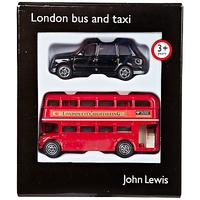 John Lewis & Partners Small London Bus and Taxi Pack