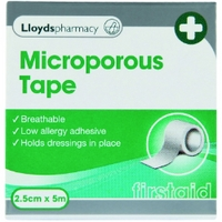 Lloydspharmacy Microporus Tape - Size 2.5cm x 5m