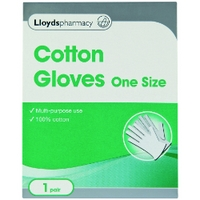Lloydspharmacy Cotton Gloves - 1 Pair