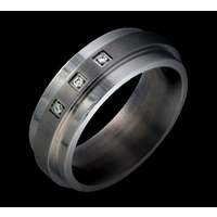Ditri XL Stainless Steel Band Ring