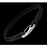 Jax Men's Leather Bracelet