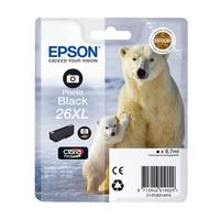 EPSON Polar Bear T2632 XL Photo Black Ink Cartridge, Black