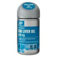 Boots COD LIVER OIL 1000 mg 30 capsules