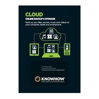 KNOWHOW Cloud Storage 200 GB - 2 Mobile Devices, Silver