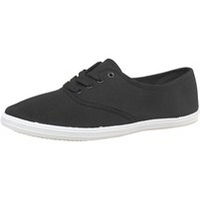 Mad Wax Mens Canvas Pumps Black