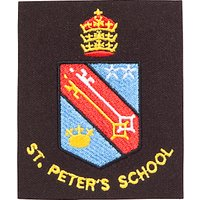 St Peter's Catholic School Unisex Blazer Badge, Multi