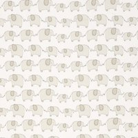 John Lewis & Partners Eli Elephant Fabric, Grey