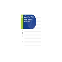 Filofax Inserts Mini Ruled White