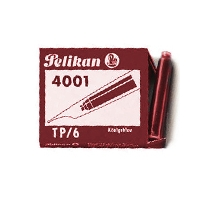 Pelikan Cartridges (6) Red