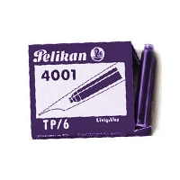 Pelikan Cartridges (6) Violet