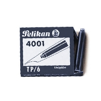 Pelikan Cartridges (6) Blue-Black