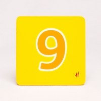Hamleys Wooden Number 9