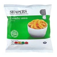 Shapers Crunchy onion Flavour Rings