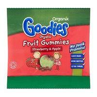 Organix Goodies Organic Fruit Gummies Strawberry & Apple for Toddlers from 12+ Months 12g
